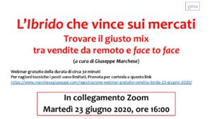 Webinar - Reote selling vs face to face