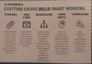 I fattori chiave dello smart working